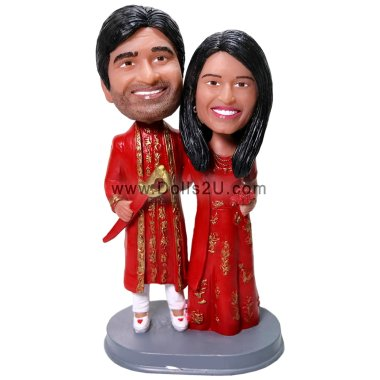 Indian wedding Bobbleheads