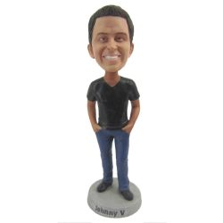 Custom Bobbleheads Casual Male