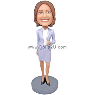 Businesswoman Bobbleheads
