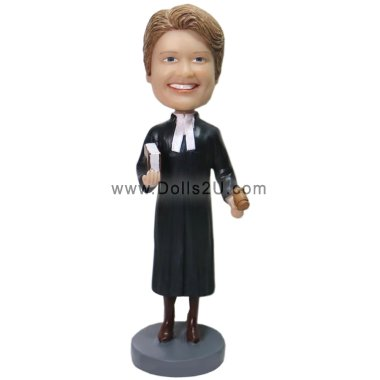 female lawyer bobblehead Bobbleheads