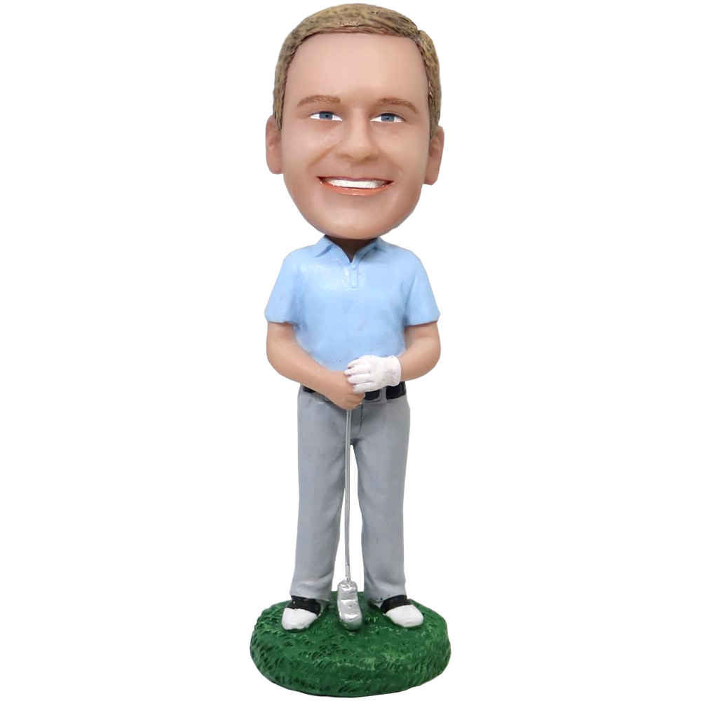 Custom Bobbleheads Golf Male